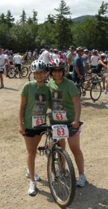 Jannette and Kim at Mud Hog Race