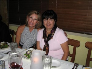 Nicholas Grandma Gail (right) at awareness dinner in Naples FL