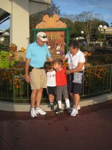 Nana, Grampy, Nicholas and William