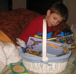 Nicholas at Easter